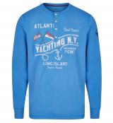 T-shirt manche longue bleu cobalt 3XL à 8XL