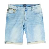Replika jeans Denim Short bleu clair délavé 38US - 62US