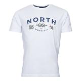 North 56.4 T-shirt manche courte blanc de 3XL à 10XL