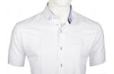 Chemise blanche manche courte de 3XL à 6XL