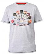 T-shirt Mélange de gris clair manche courte de 3XL à6XL