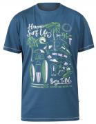 T-shirt bleu turquoise manche courte de 3XL à 6XL