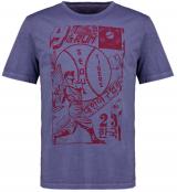 T-shirt manche courte bleu indigo 3XL à 8XL