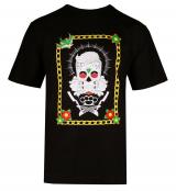 T-shirt manche courte noir de 3XL à 8XL