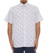 Chemise manche courte blanche de 3XL à 8XL