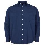 Chemise manche longue bleue de 3XL à 8XL