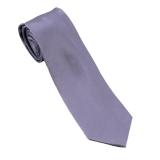 Cravate en soie mauve