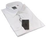 Chemise de cérémonie cintrée blanche 3XL