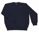 Pull bleu marine classique de 2XL à 8XL