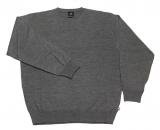 Pull gris clair classique de 2XL à 8XL