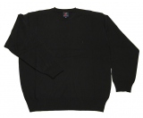 Pull noir classique de 2XL à 8XL