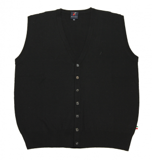 XXL4YOU - gilet de qualité noir de 2xl à 8xl