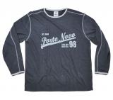 T-shirt longue manche Gris de 2XL à 8XL