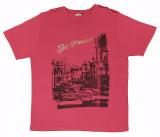 T-shirt manches courtes motif San Francisco rouge de 3XL à 6XL