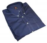 Chemise manche courte bleu marine de 4XL à 7XL