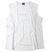 Tshirt sans manche Sport blanc de L à 8XL