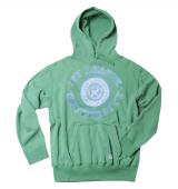 Sweat à capuche vert jade de 3XL à 7XL