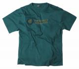 T-shirt turquoise foncé manches courtes imprimé de 2XL à 6XL