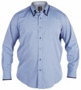 Chemise Fashion FLYING bleu clair de XL à 4XL