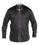 Chemise Fashion CURT noir de XL à 4XL