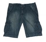 Bermuda jeans bleu délavé de 54 à 64