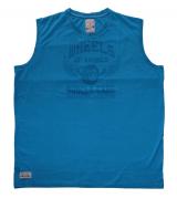 Tshirt sans manche bleu de 3XL à 8XL Motif Wheels