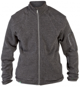 Sweat cardigan zippé gris foncé de 1XL à 5XL