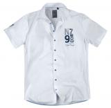 Chemise manches courtes blanc 3XL à 8XL