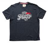 T-shirt manches courtes bleu marine football league de 3XL à 8XL