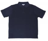 Polo Piqué de qualité bleu marine de 3XL à 8XL