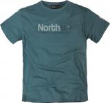 T-shirt Imprimé manches courtes bleu pétrole 3XL à 8XL