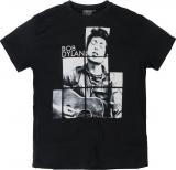 T-shirt Rock Bob Dylan manches courtes noir 3XL à 8XL