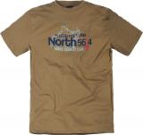 T-shirt Imprimé manches courtes kaki clair 3XL à 8XL