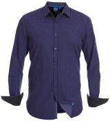 Chemise Fashion bleu de XL à 6XL