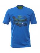 T-shirt manches courtes bleu cobalt de 3XL à 6XL Chamonix Mont blanc