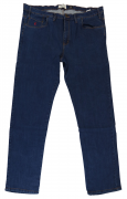 Maxfort jeans stretch bleu foncé délavé de 52EU à 70EU