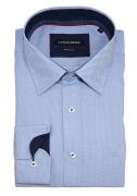 Chemise Fashion bleu clair  de 46 à 56