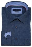 Chemise Fashion bleu pétrole  de 46 à 56