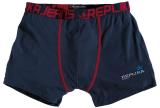 Boxer bleu marine et bordeaux 2XL à 8XL