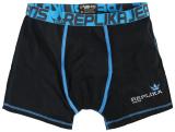 Boxer noir et bleu clair 2XL à 8XL