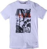 Tshirt imprimé blanc 2XL à 8XL