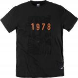 Tshirt imprimé noir 2XL à 8XL