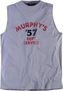 T-shirt imprimé Garage Murphys Gris 2XL à 8XL