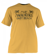 T-shirt manches courtes waikiki Jaune de 3XL à 8XL