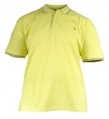 Polo piqué manches courtes jaune citron vert