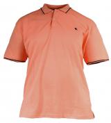 Polo piquet manches courtes orange MuskMelon
