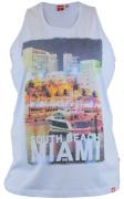 T-shirt sans manche Bleu Ciel de 3XL à 6XL