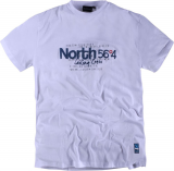 T-shirt Imprimé manches courtes blanc 2XL à 8XL