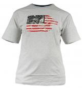 T-shirt manches courtes gris chiné de 2XL à 5XL