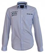Chemise Fashion bleu placide 3XL à 8XL